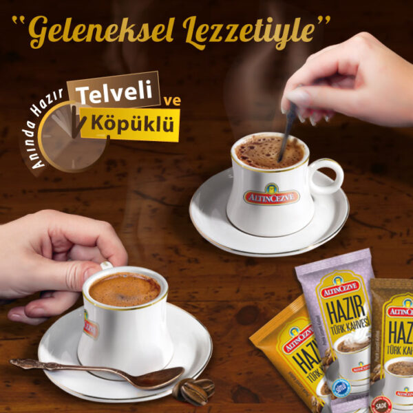 hazır türk kahvesi