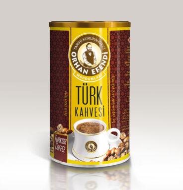 Türk Kahvesi Teneke 250 Gr
